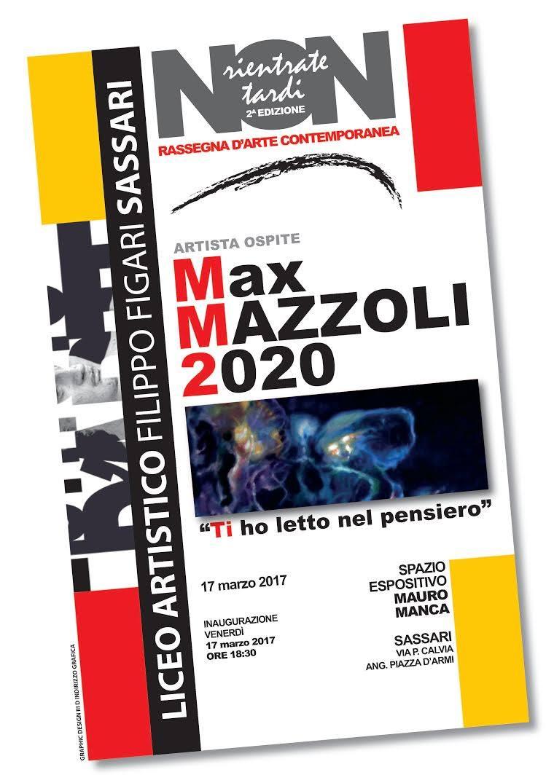 2020: Ti ho letto nel pensiero – Mostra Personale di Max Mazzoli